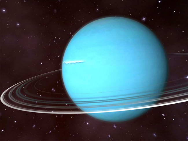 Uranus 3D Space Survey Screensaver