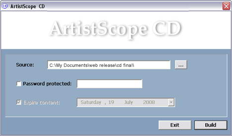 ArtistScope CD