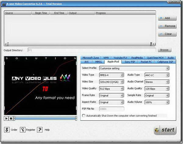 A-one Video Converter