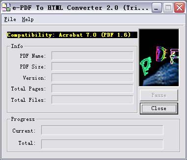 e-PDF To HTML Converter