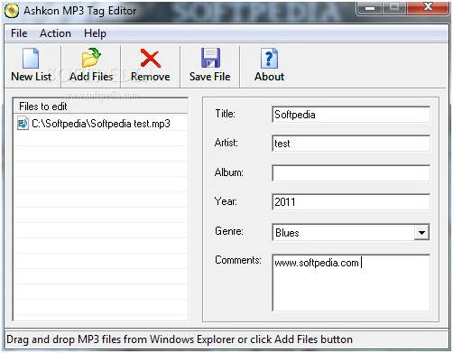 Ashkon MP3 Tag Editor
