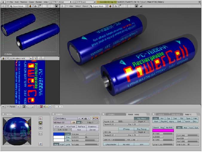 Blender (x32)