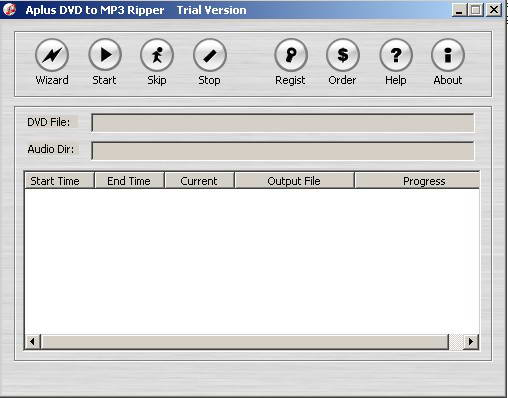 Aplus DVD to MP3 Ripper
