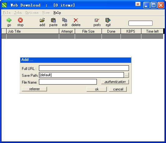 Web Downloader