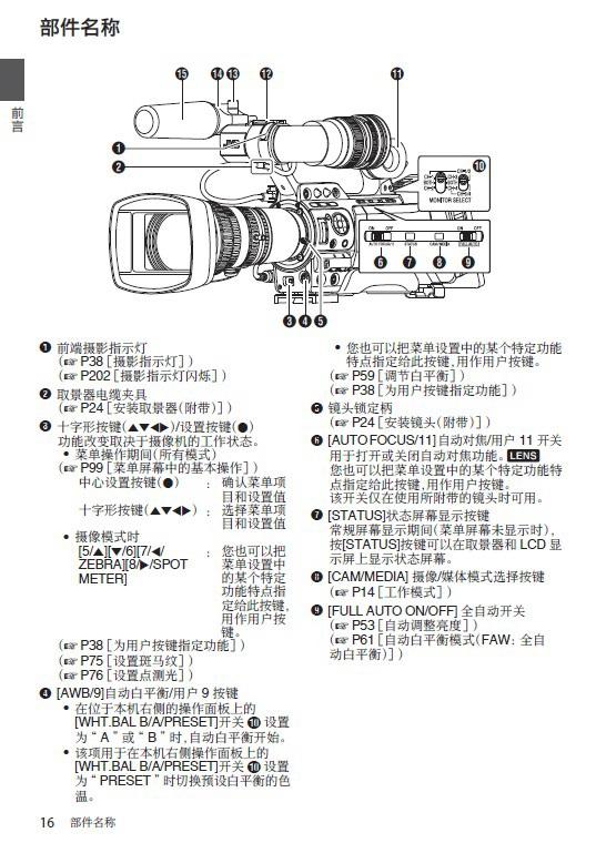 胜利GY-HM890U高清摄录一体机使用说明书
