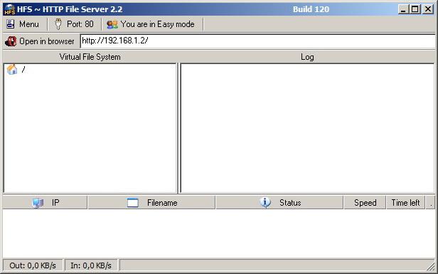hfs网络文件服务器