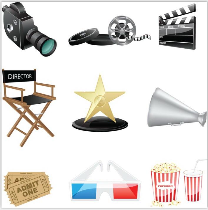 矢量电影拍摄设备