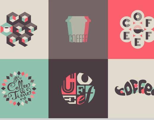 华军软件园 图形图像 矢量图库 咖啡创意图形  相关下载 软件截图