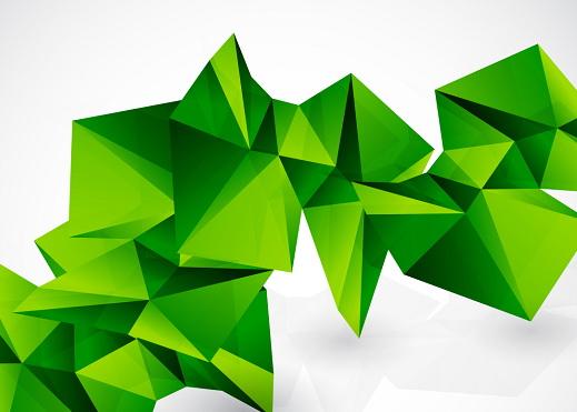 绿色自然主题背景矢量素材