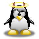 可爱企鹅桌面图标下载2