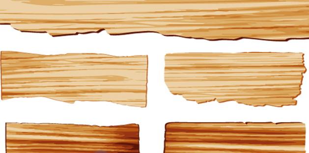 木板矢量设计素材_木板矢量设计素材模板