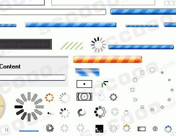 64款loading gif缓冲动画素材