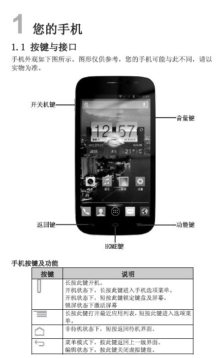 TCL J900手机说明书