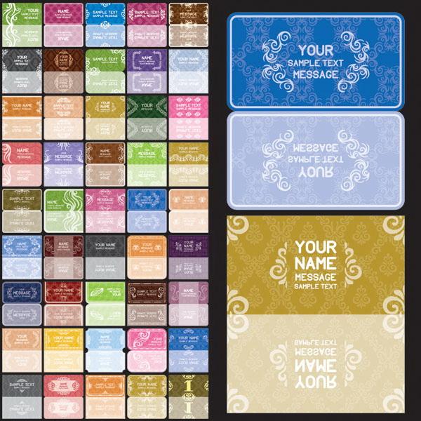 欧式花纹卡片1_欧式花纹卡片1模板