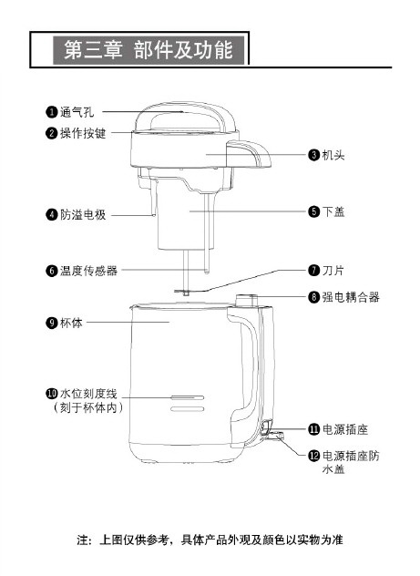 九阳dj12b-a29豆浆机使用说明书