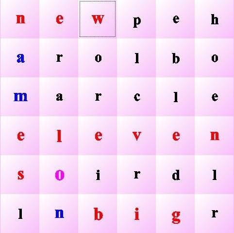 玩点单词快乐学英语(一年级)
