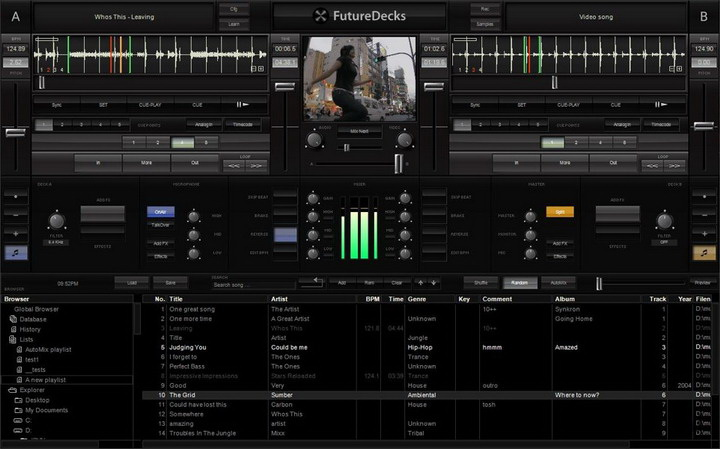 FutureDecks DJ Pro For Mac