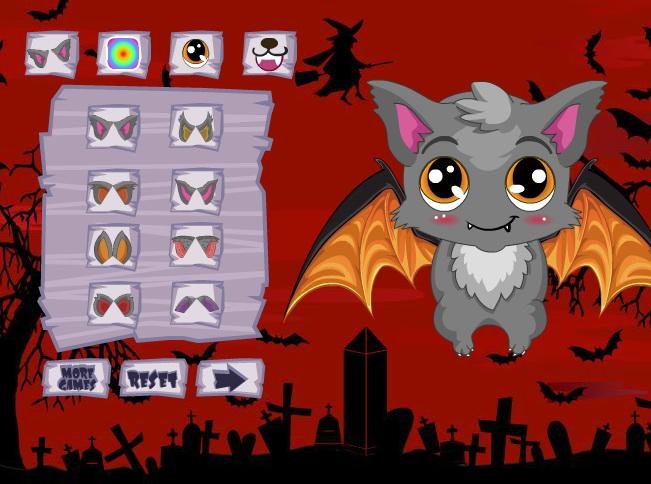 可爱的蝙蝠精灵