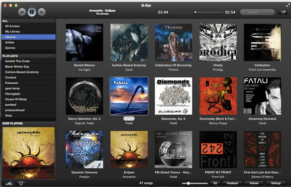 G-Ear Player  For Mac