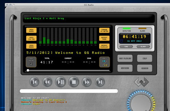 GG Radio For Mac