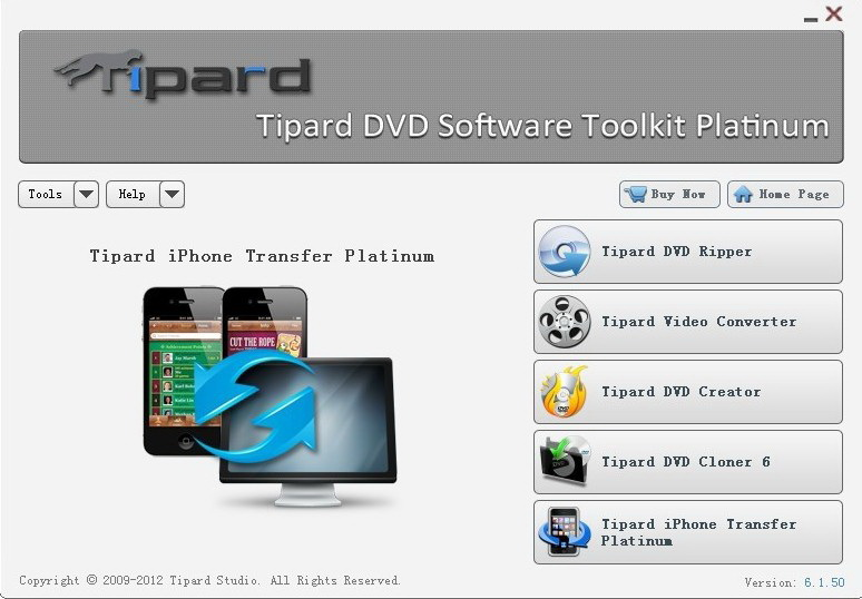 Tipard DVD Software Toolkit Platinum