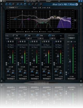 Blue Cat-s MB-7 Mixer For Mac AU