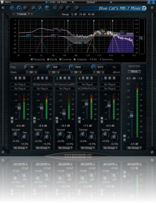 Blue Cat-s MB-7 Mixer For VST