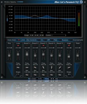 Blue Cat-s Parametr'EQ For Mac AAX