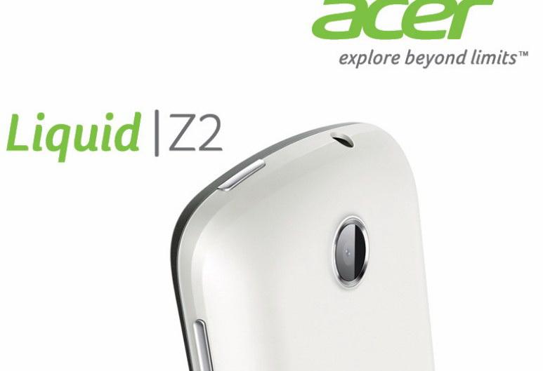 ACER Liquid Z2 Z210掌上无线说明书