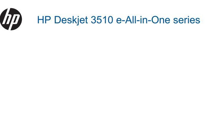 惠普 HP Deskjet Ink Advantage 3515一体机说明书
