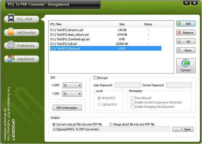 Opoosoft PCL To PDF ( GUI + Command Line )