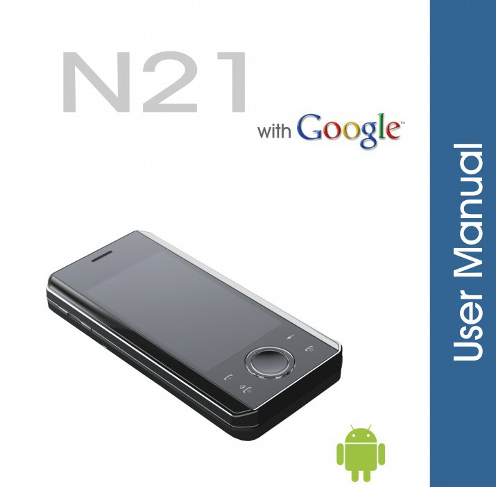 SciPhone N21手机说明书