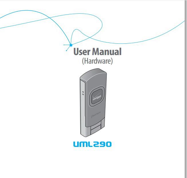泛泰 Pantech UML290手机说明书