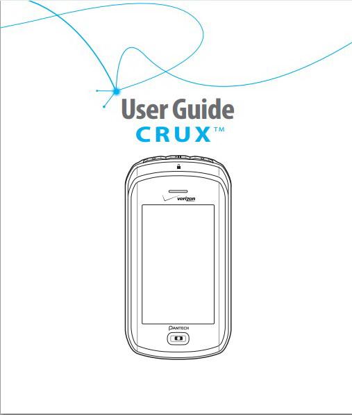 泛泰 CRUX手机说明书