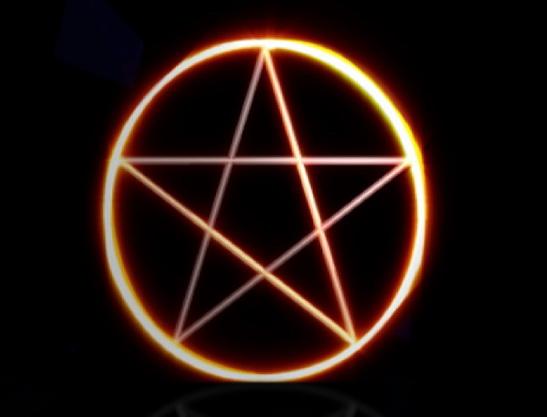 Pentagram Screensaver