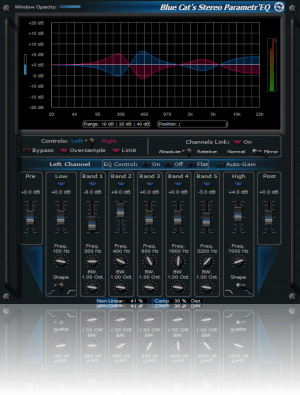 Blue Cat-s Stereo Parametr'EQ For RTAS