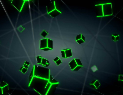 Super Cubes Screensaver
