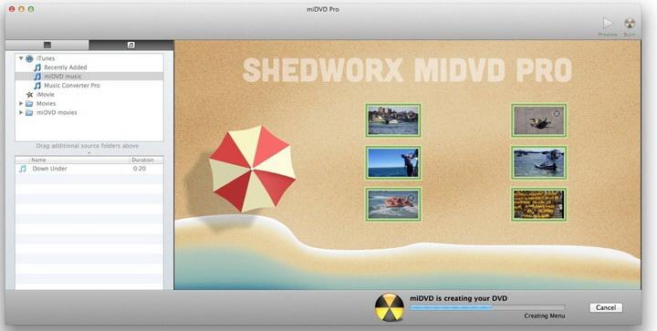 miDVD for MAC