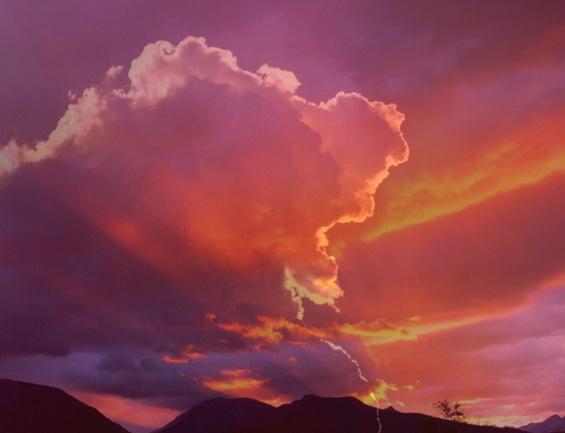 Dramatic Clouds Free Screensaver