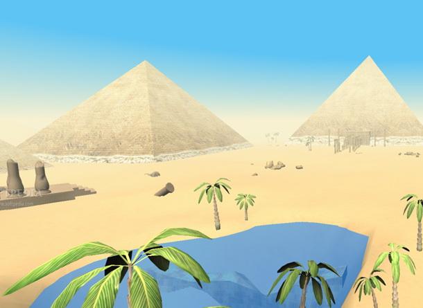 The Pyramids of Egypt 3D Screensaver