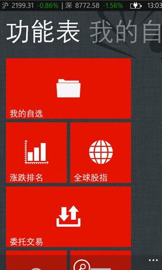 同花顺 For windows phone
