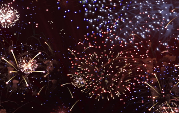 Fireworks Free Screensaver