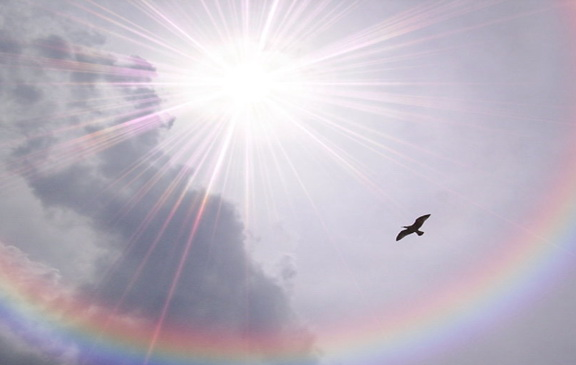 Spectacular Rainbows Free Screensaver