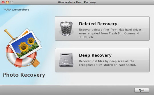 Mac Photo Recovery for MAC