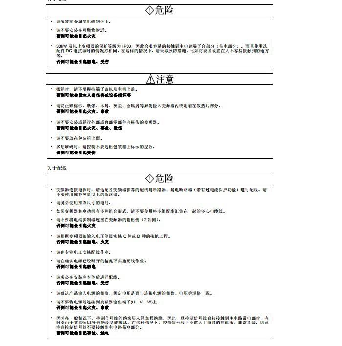 富士FRN315F1S-4C变频器说明书