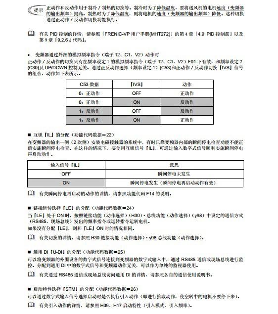 富士FRN30F1S-4C变频器说明书