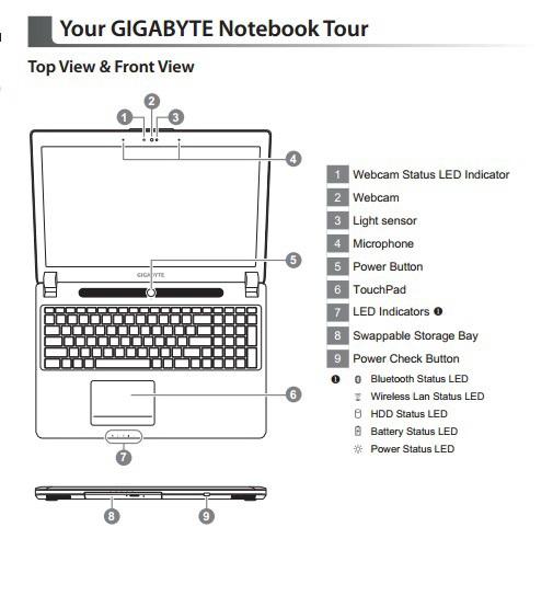 技嘉P35K笔记本电脑使用手册