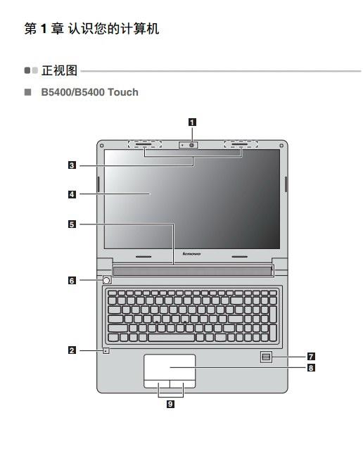 联想Lenovo M5400笔记本电脑说明书