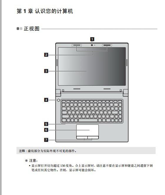 联想Lenovo B490s使用说明书