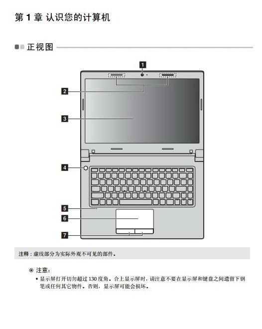 联想B4450s笔记本电脑使用说明书